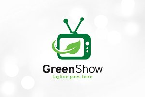 Green Show Logo Template