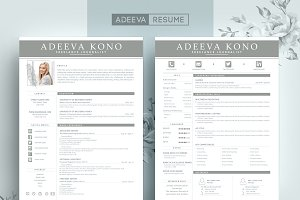 Professional Resume Template Kono