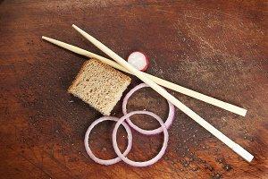 Still life with chopsticks