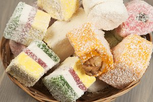 Lukum (Turkish Delight) assort