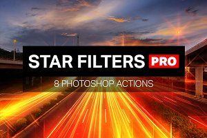 Star Filters Pro - 8 PS Actions