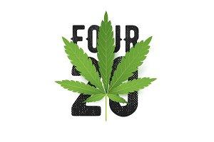 420 T-Shirt print