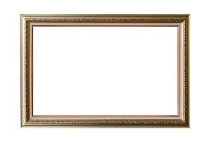 frame wood Elegant vintage