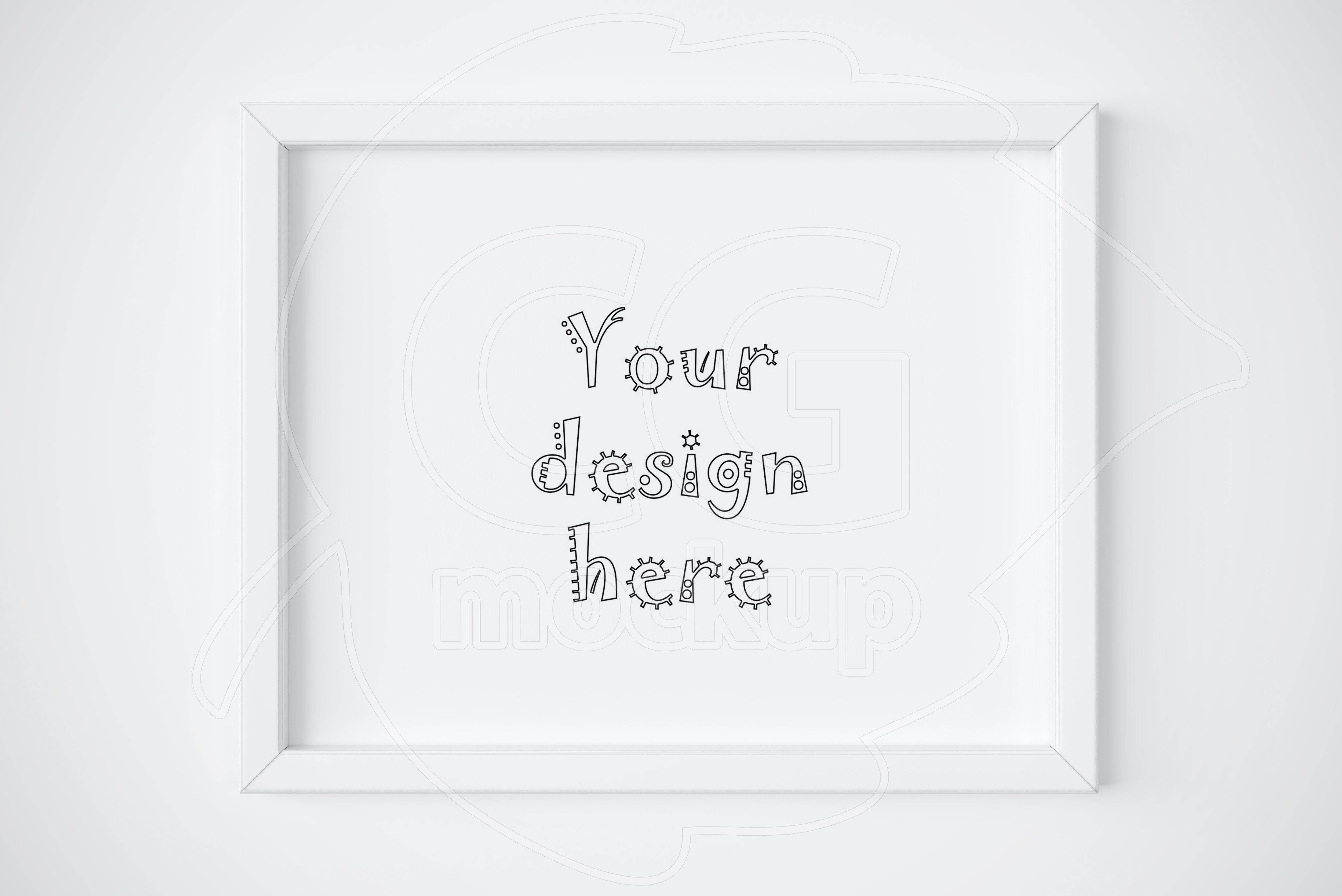 11x14 frame mockup Photos, Graphics, Fonts, Themes, Templates ...