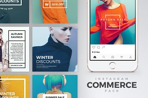 Instagram Commerce Pack