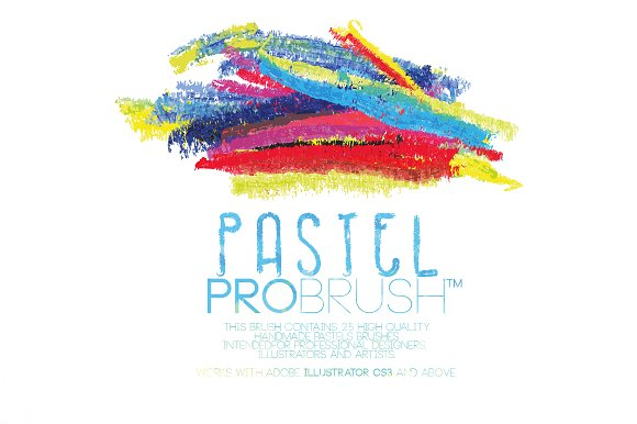 546ad8af70572 Paint Splatters Photoshop Brushes Pastels - ProBrush™ ...