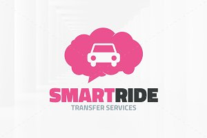 Smart Ride Logo Template