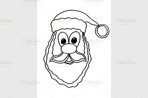 Santa claus face
