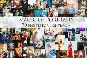 Magic of Portraits-70 presets for Lr