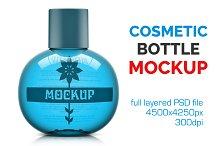 Clear Cosmetic Bottle Mockup Vol. 1