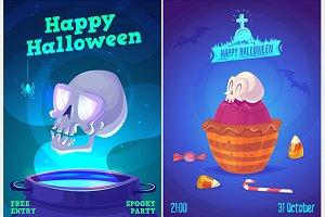Halloween posters set1