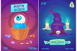 Halloween posters set2