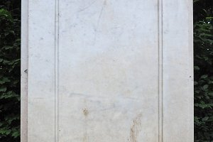 Ancient marble column