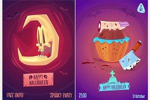 Halloween posters set3