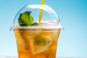 Fresh ice tea