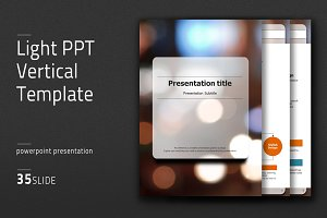 Light PPT Vertical Template