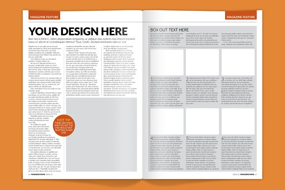 Download Magazine Spread Effect Mock-up