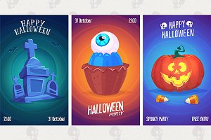 Halloween posters set6