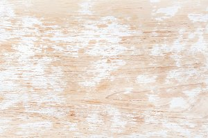 Old white painted wooden texture