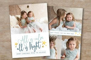 Holiday Card Template - Christmas