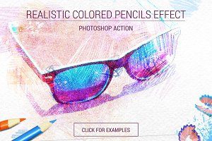 Realistic Colored Pencils Effect