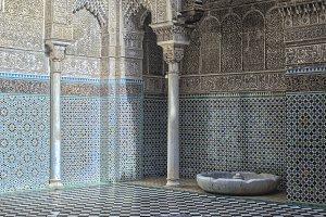 Misbahiya medersa in Fez