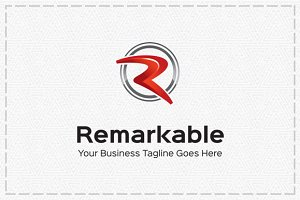 Remarkable Logo Template