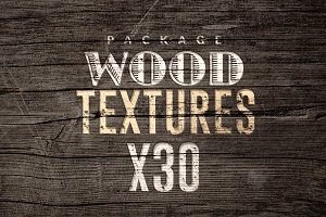 30 Wood Textures | Pack