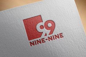 Modern Nine-Nine Logo