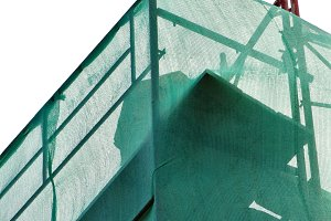 Green Debris Netting