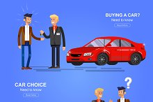 Buying a car set
