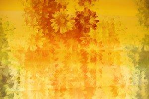 Grunge Floral Pattern