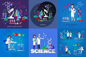 Science & scientists characters