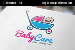 Baby Care - Logo Template
