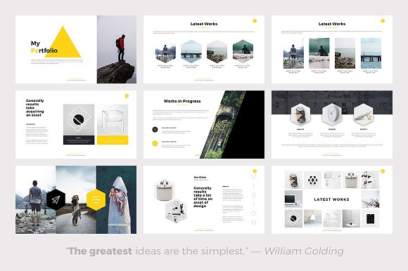 phlox minimal powerpoint template presentation templates