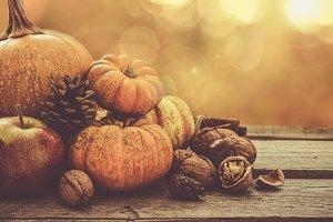 Autumn nature concept