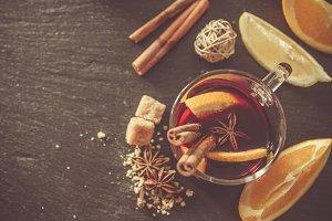 Mulled wine ingredients