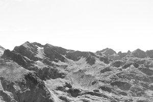 Montagne noire.
