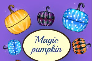 Magic pumpkins for your design needs
