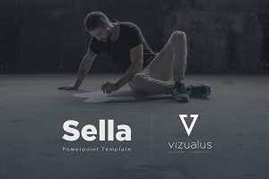Sella Powerpoint Template + Freebie