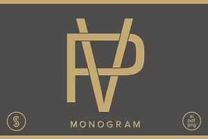 PV Monogram VP Monogram