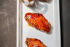 Grilled Chicken wing