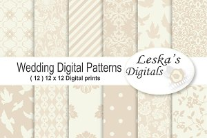 Wedding Digital Paper