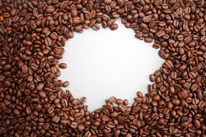 Coffee Beans Frame - Circleish