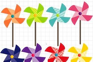 Pinwheels Clipart