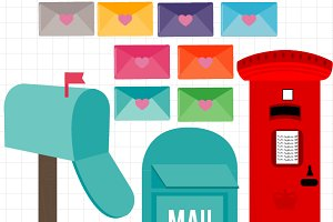Mailbox London Clipart
