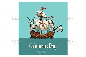 Caravel Santa Maria Day Columbus