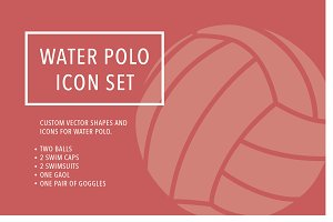 Water Polo Icons