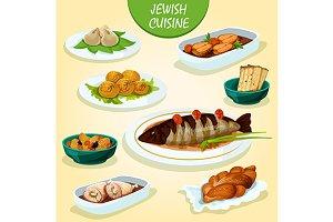 Jewish cuisine icons