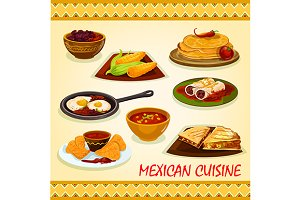 Mexican cuisine spicy dishes